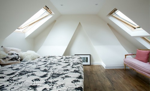 Loft Conversion With Lots Of Sunlight
