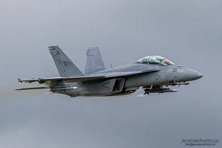 Boeing F/A-18F Super Hornet, US Navy | by AviationPhoto.ch