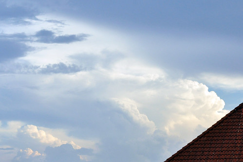 Wetter Mannheim-Seckenheim 28. August 2016 - 36 Grad, kein Gewitter - Foto: Brigitte Stolle