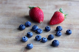 Blueberries and strawberries | by little luxury list