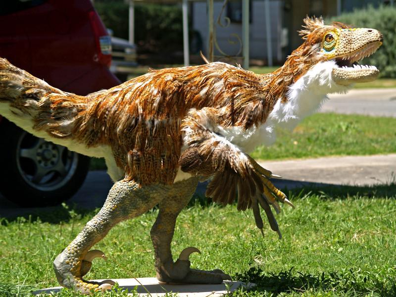 deinonychus sculpture by pheaston - photo #11