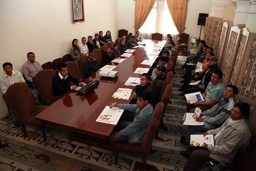 Capacitaci n para migrantes conjuntamente con proecuador for Ministerio relaciones exteriores ecuador