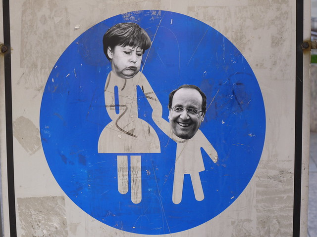 Merkel - Hollande relationship
