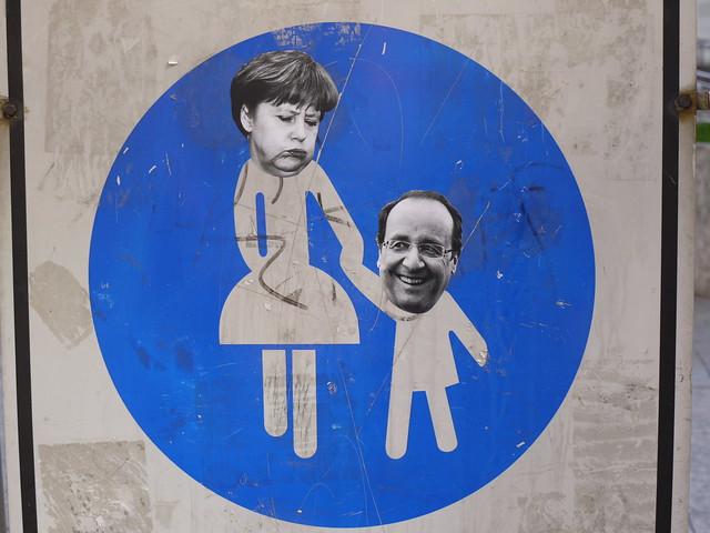Merkel - Hollande relationship