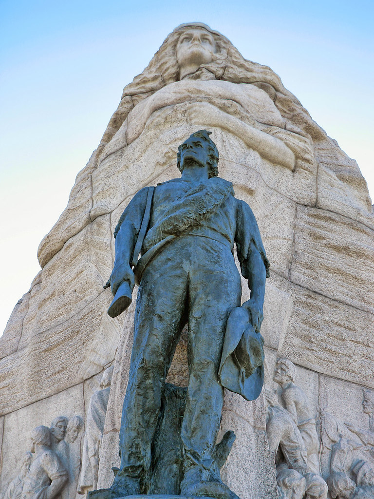 Mormon Battalion Monument In Salt Lake City, United States