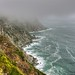 Spectacular cliffs, Table Mountain National Park, South Africa (HDR)