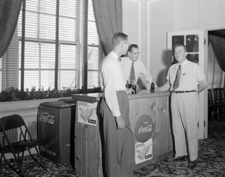 N.53.16.5350 Coca Cola Booth Sir Walter Hotel Aug 21, 1951 | by State Archives of North Carolina