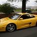 Yellow Ferrari 355