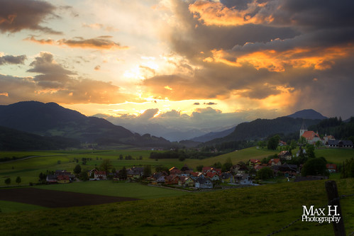 Carinthian Sunset HDR | by Max Habich