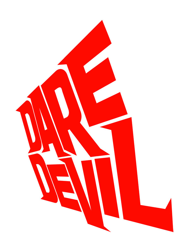 daredevil logo style 1 angled alternate daredevil