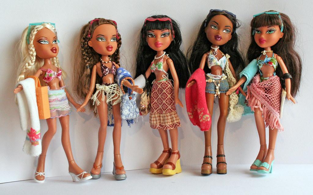 bratz c24 cloe, yasmin, jade, sasha, dana | Summer days ...