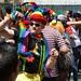 ghettodisco house music stage: Virgin america clubkid in jester hat