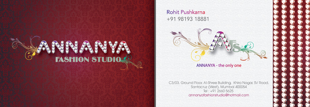 Logo and business card design for a fashion studio npr de flickr india logo and business card design for a fashion studio npr design mumbai india reheart Images