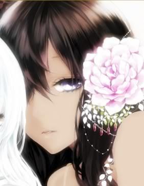 Anime dark skinned girl seraphine the angel of reality - Dark anime girl pics ...