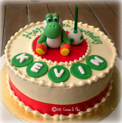 Yoshi Birthday Cake Pan