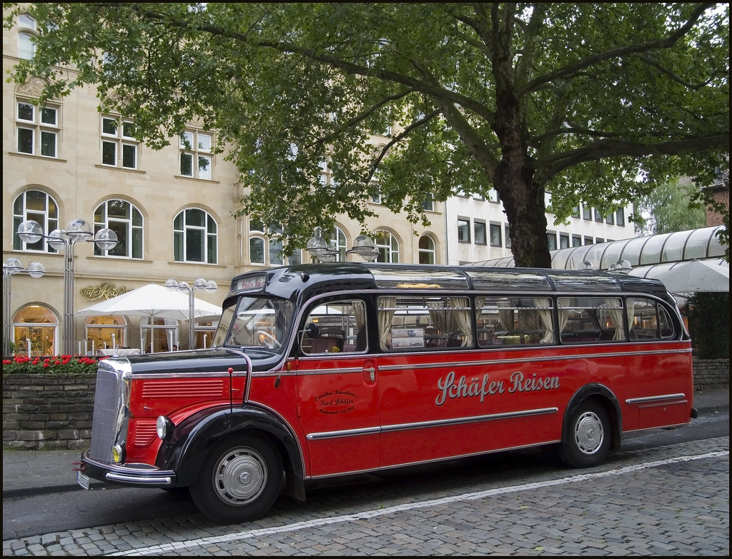 k ln cologne germany historic mercedes benz o 3500 in flickr. Black Bedroom Furniture Sets. Home Design Ideas