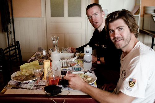 June 25th Lunch with Stuart Block and Seb | by The Hungry Cyclist
