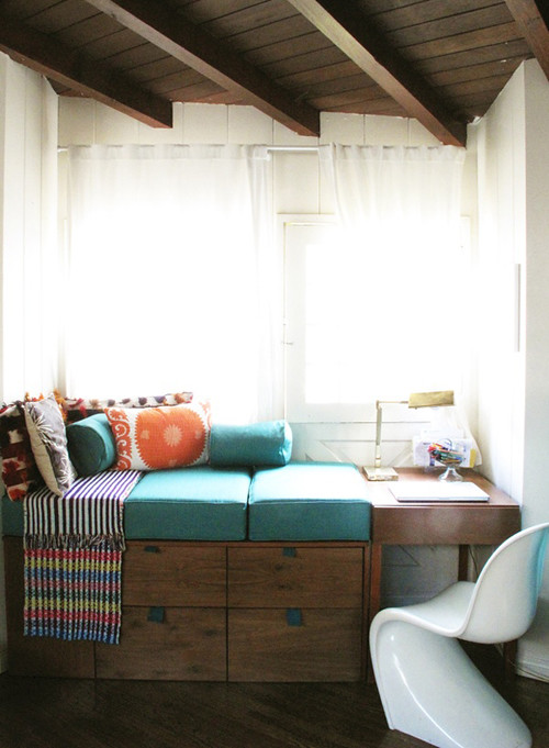 reading nook featured on my blog