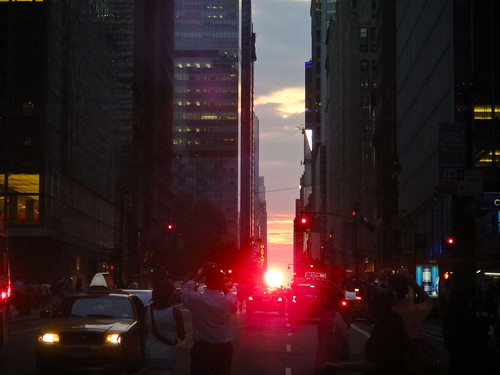 Manhattanhenge on 42nd, July 2012 2 | by quiggyt4
