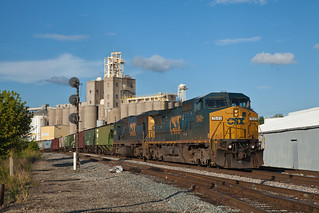 CSX 7649 Q265 Evansville IN 15 July 2012 | by Train Chaser