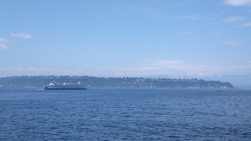 Ferry on Puget Sound | by palmsolo