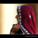 Frau in Ranakpur - Rajasthan Indien