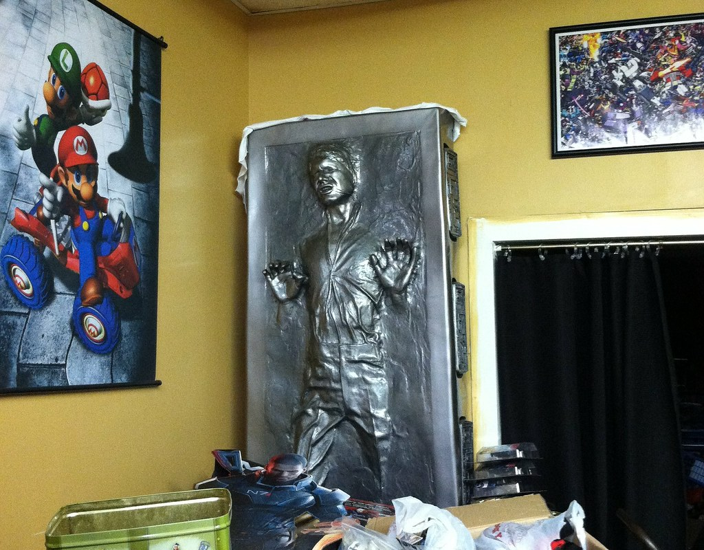 House of fun. Has full size Han solo in carbonite. | Flickr