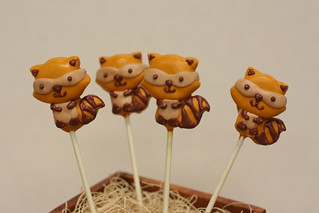 Raccoon Cake Pops | by Sweet Lauren Cakes