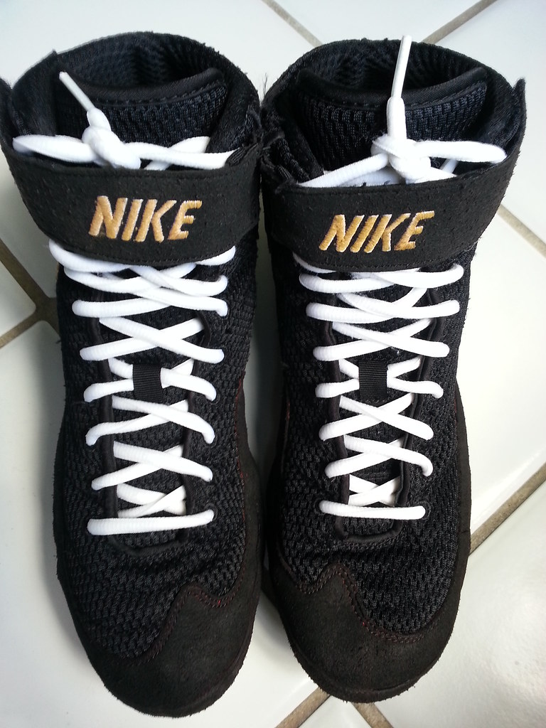 Nike custom inflicts wrestling shoes | front view size 11 of… | Flickr