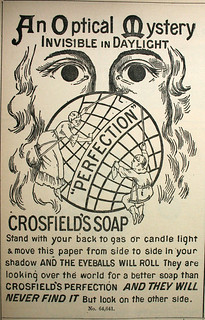 "Crosfield's Soap - ""An Optical Mystery"" 7 May 1887 