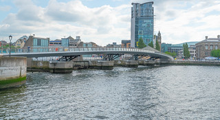 The New £5m Lagan Weir Footbridge In Belfast City [I Like It]-121101 | by infomatique
