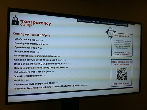 Transparency Camp 2012 | by Bytemarks