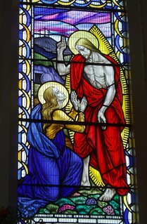 Christ appearing to Mary Magdalene, St Mary's, Wednesbury | by Aidan McRae Thomson