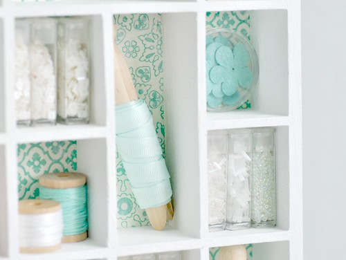 Mini shelves filled | by toriejayne