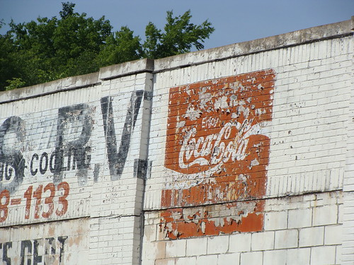 Coca cola ghost wall mural birmingham al could use a for Alabama wall mural