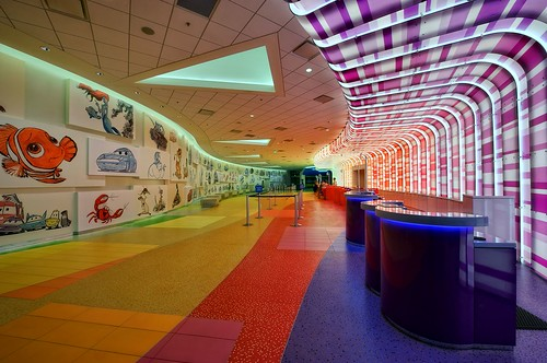 Disney's Art of Animation Resort - Ride the Color Wave