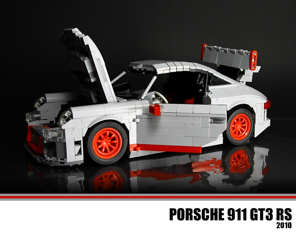 lego porsche 911 gt3 rs the porsche 911 gt3 is a higher. Black Bedroom Furniture Sets. Home Design Ideas