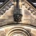 Münster, Westfalen, Paulusdom, exterior, Paradies, wheel window, detail