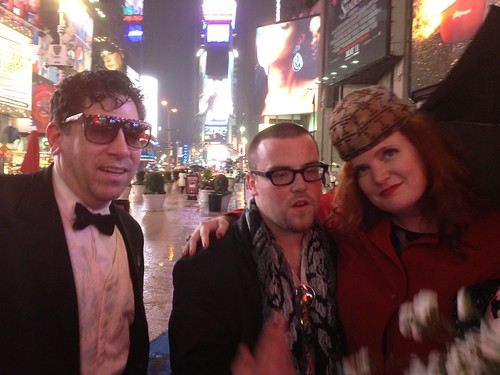 Scumbag Steve music video taking place in Times Square | by Scott Beale