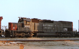 Southern Pacific SD40T-2 #8363 | by emd111