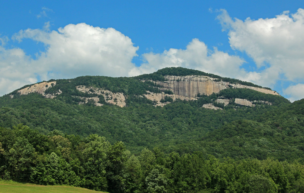 Table Rock Table Rock State Park View From Highway 11 P