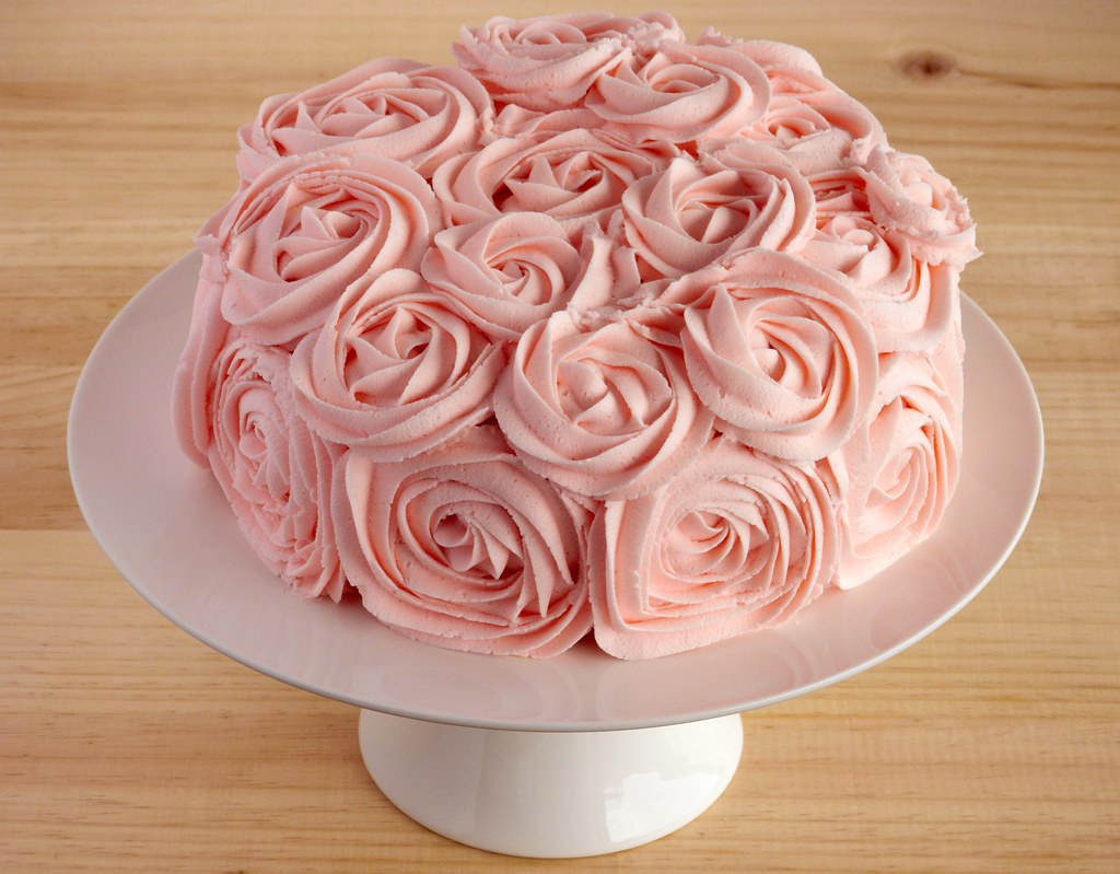 Chocolate Rose Cake Images