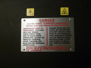 Warning label | by Peggy Archer