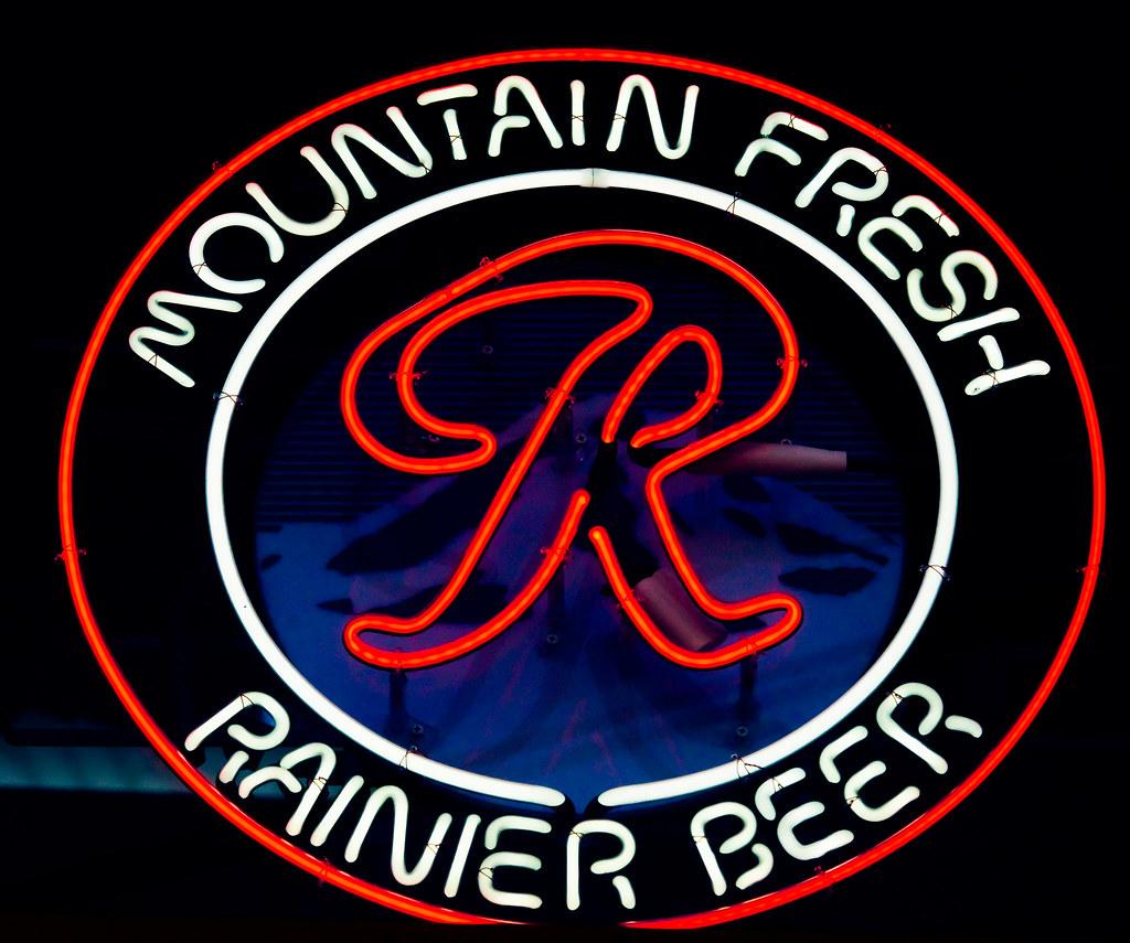 Mountain Fresh Rainier Beer | Thomas Hawk