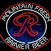 Mountain Fresh Rainier Beer