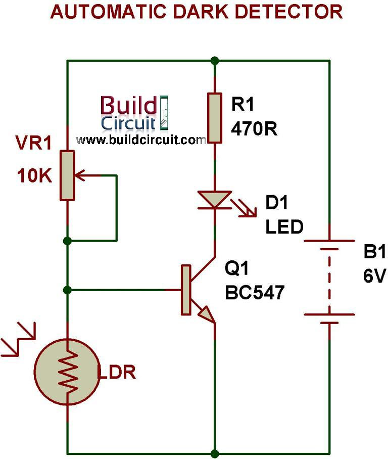 Automatic DARK DETECTOR | Visit: www.buildcircuit.com/all-po… | Flickr