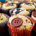 Buttons cupcakes