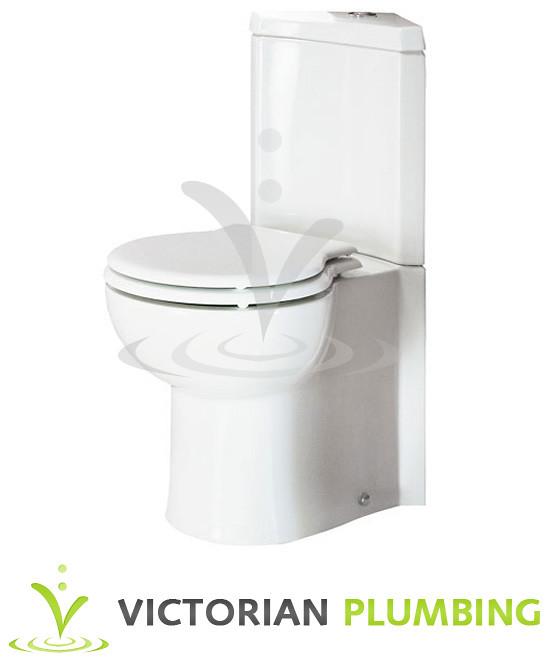 Rak Evolution Corner Close Coupled Wc Amp Toilet Seat Flickr