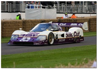 Andy Wallace 1990 Jaguar XJR11 Group C. Goodwood Festival of Speed 2012 | by Antsphoto