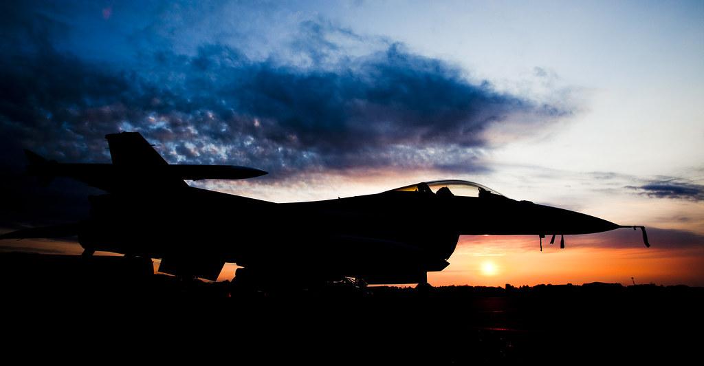Norwegian F 16 Libya 2011 A Norwegian F 16 Fighter Jet